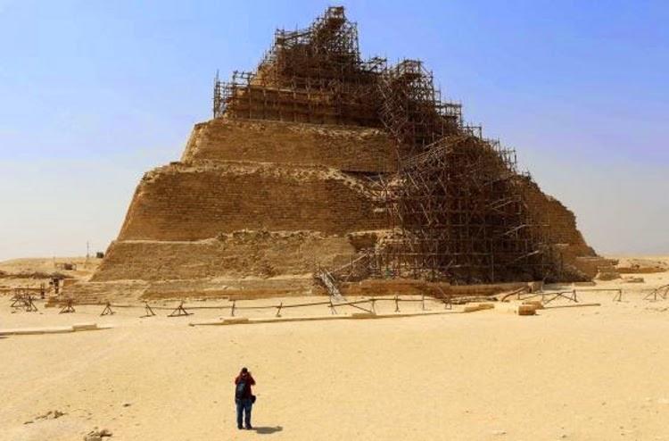 El polémico estado de la Pirámide Escalonada