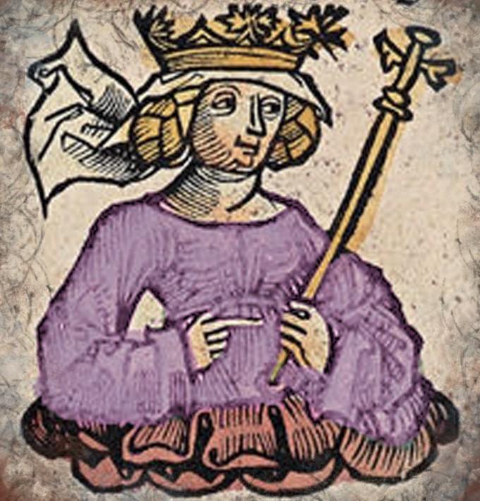Amalasuntha, según un tratado medieval
