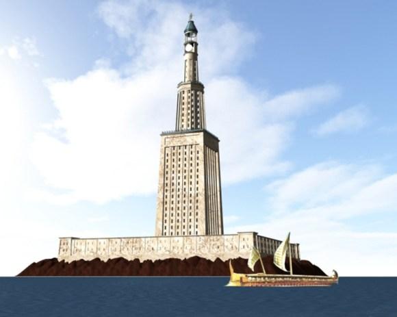 Egipto proyecta construir replica Faro Alejandria