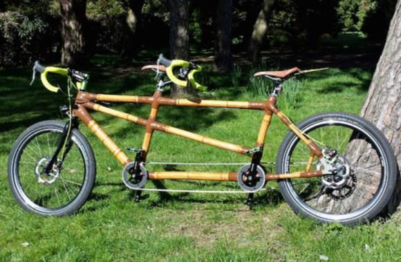 Haz propia bicicleta bambu recibiendo piezas correo 3