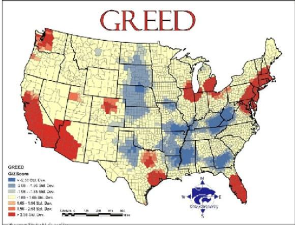 Mapa siete pecados capitales EEUU 6