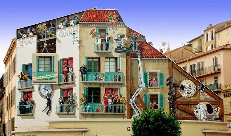 Patrick Commecy, el artista que da vida a las fachadas francesas 1