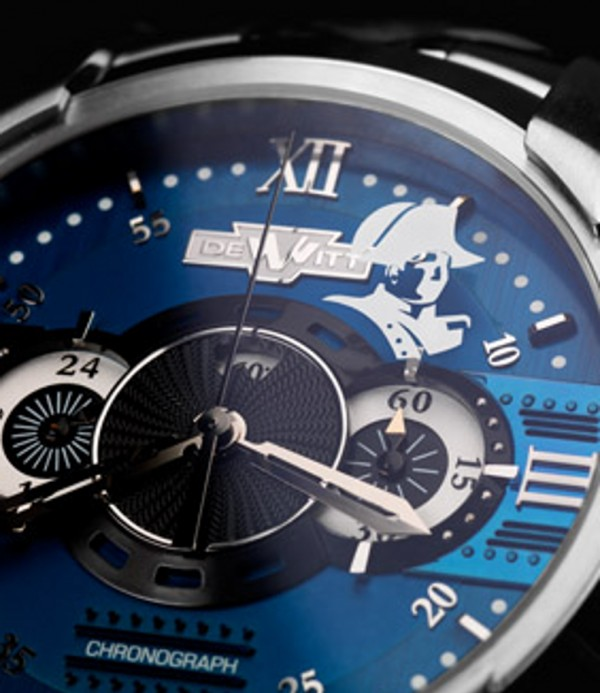 Relojes que contienen cabellos de Napoleón