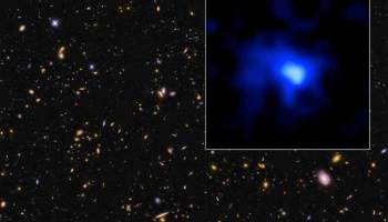 Descubren la galaxia más alejada de la Vía Láctea