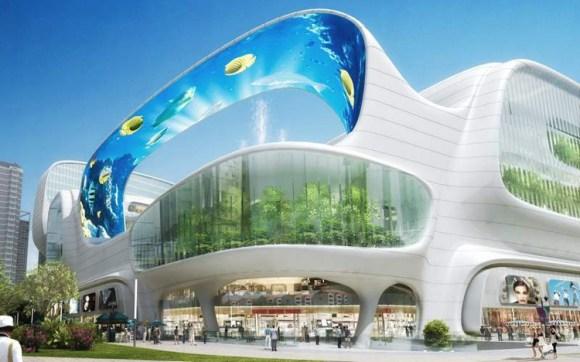 Espectacular centro comercial chino Dongfeng 1