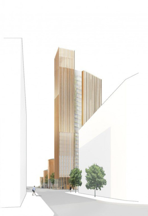 Paris tendra mayor edificio madera mundo 3