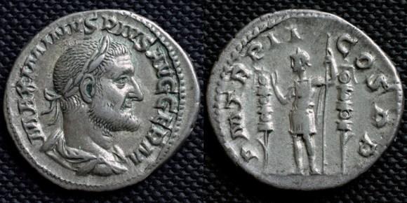 Maximino gigante tracio emperador Roma haberla pisado nunca