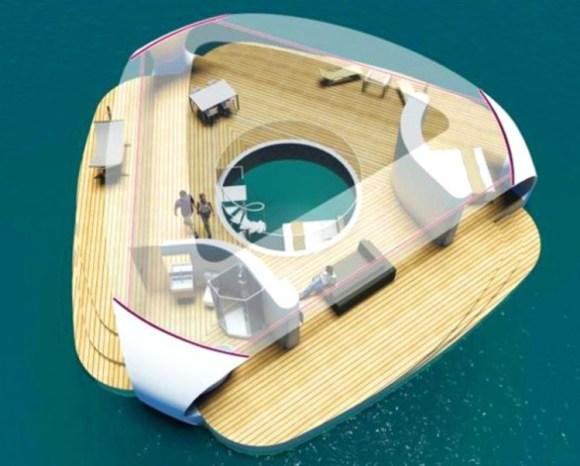 SeaScape villas flotantes 1