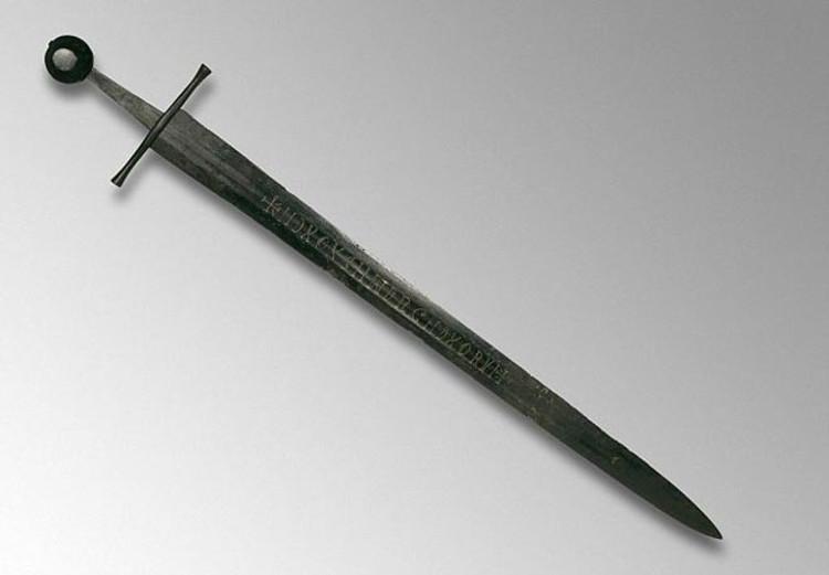 La misteriosa inscripción de una espada medieval