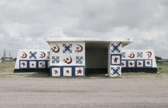 Extravagantes paradas autobus antiguas republicas sovieticas