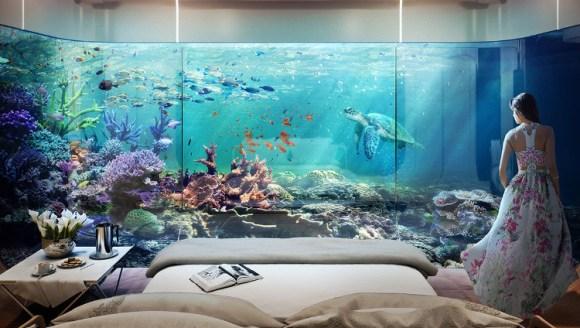 Fantasticas villas semisumergidas Dubai 3