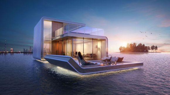 Fantasticas villas semisumergidas Dubai 5