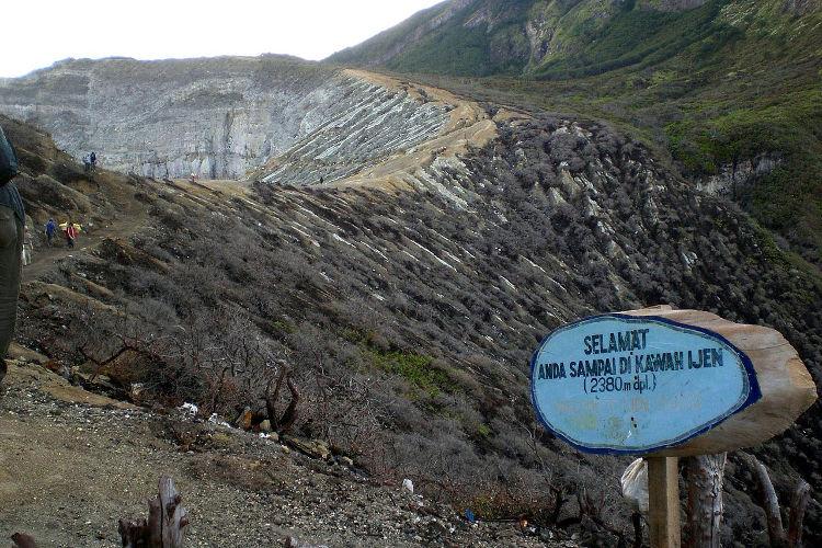 Erupciones azules volcan Kawah Ijen 3