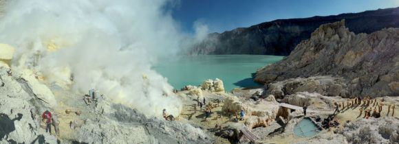 Erupciones azules volcan Kawah Ijen 4