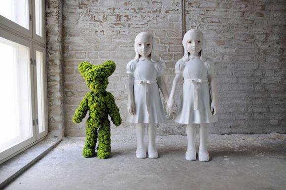 Esculturas musgo Kim Simonsson 2