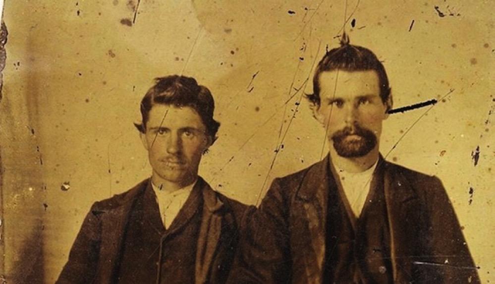 La foto de Jesse James con su asesino