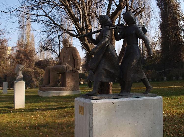 El nostálgico Museo de Arte Socialista de Bulgaria