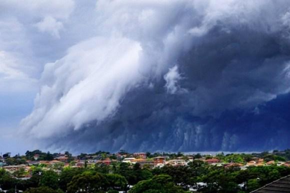 Espectaculares nubes sobre Australia 3