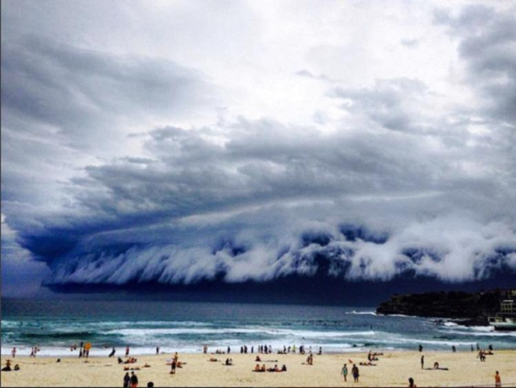 Espectaculares nubes sobre Austrlia 1