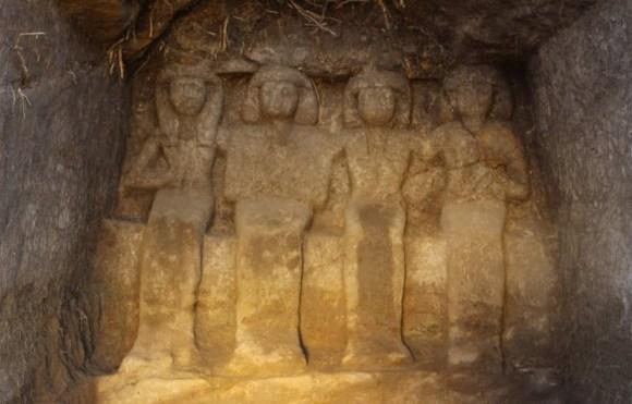 Encuentras seis nuevas estatuas funerarias Egipto