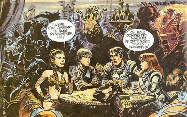 Star Wars pudo inspirarse en un famoso cómic francés