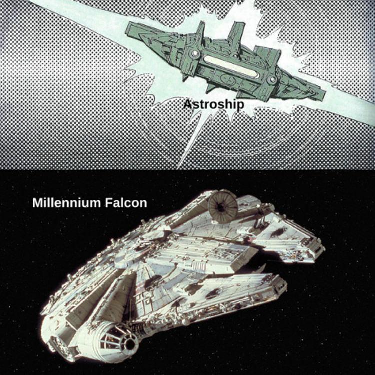 Influencia famoso comic frances Star Wars 6