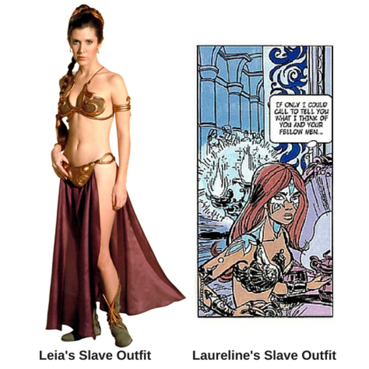 Influencia famoso comic frances Star Wars