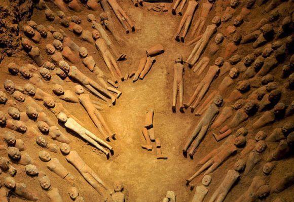 Descubren te antiguo historia tumba emperador chino 2