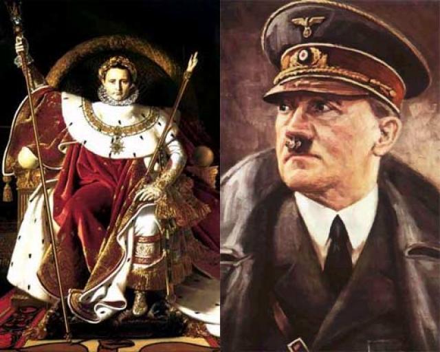 El paralelismo entre Napoleón y Hitler a través del número 129