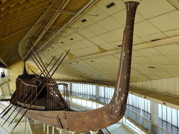 Descubren barco funerario bien conservado tumba egipcia 3