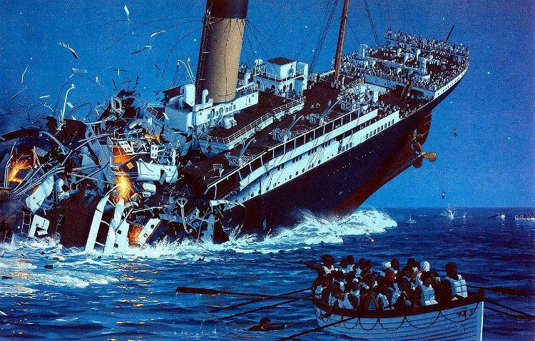Heroico oficial Titanic sobrevivio hundimiento dos guerras mundiales 1