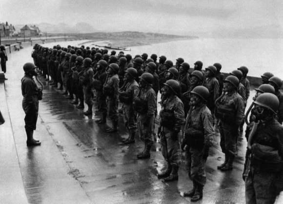 Entrenamiento de enfermeras norteamericanas en Gales en 1944