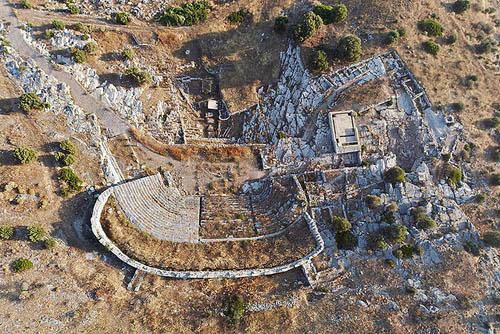 La red de galerías mineras más antiguas de Grecia, bajo la Acrópolis de Tóricos