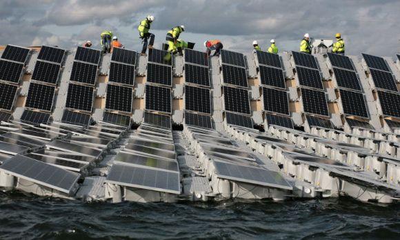 Inglaterra inaugurara marzo mayor parque solar flotante mundo