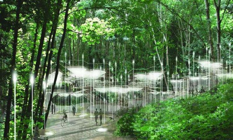El cementerio del futuro, ecológico y multi-religión