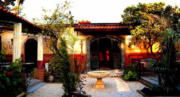 Abre Pompeya restaurante inspirado Roma antigua