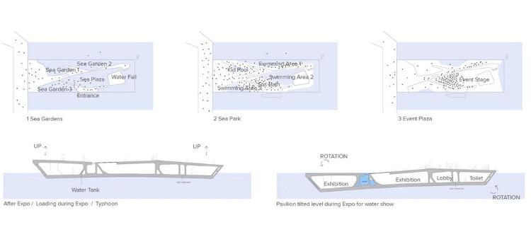 Arquitectos españoles diseñan pabellon sumerge emerge mar 2