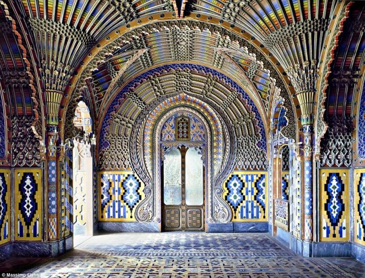 Belleza orientalizante Castillo Sammezzano italiano