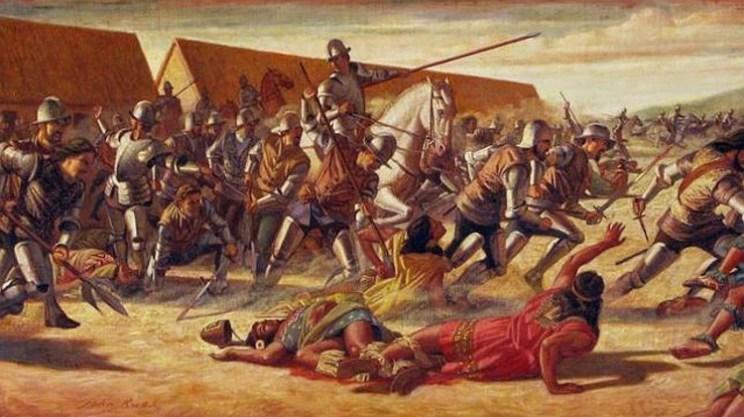[Imagen: Conquistadores-españoles-raza-negra-3.j...=600%2C337]