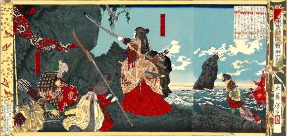 Famosas mujeres samurái Japón
