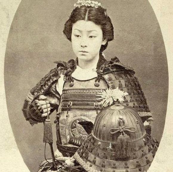 Mas famosas mujeres samurai Japon