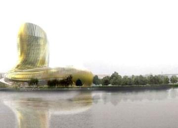 A punto inaugurarse nueva Ciudad Vino Burdeos