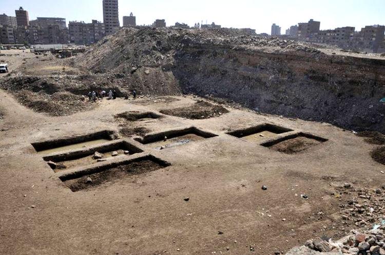 Descubierto Heliopolis templo egipcio XXX dinastia 1