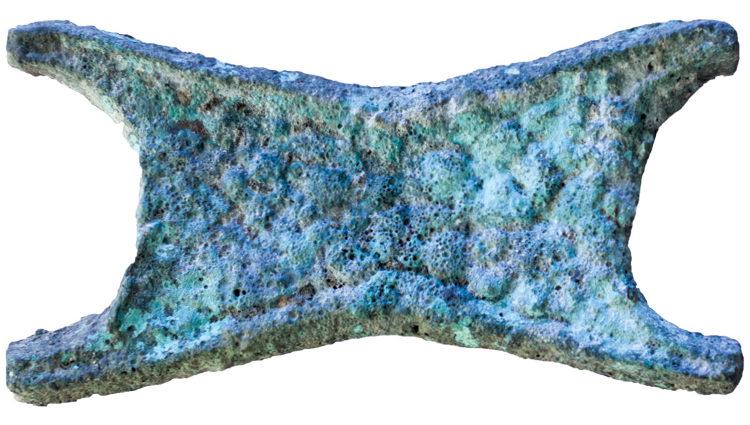 Encuentran Suecia herramientas Bronce hechas cobre procedente Chipre