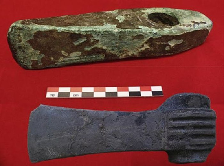 Encuentran en Suecia herramientas de la Edad del Bronce hechas con cobre procedente de Chipre