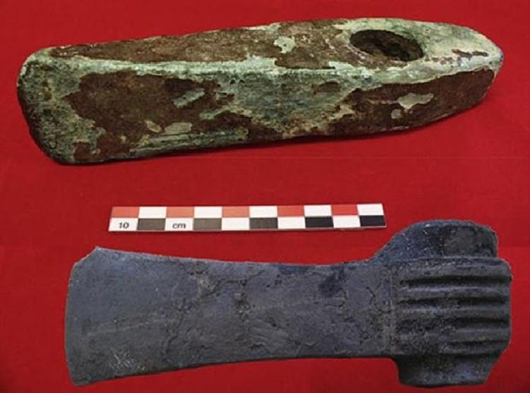Encuentran Suecia herramientas Edad Bronce hechas cobre procedente Chipre