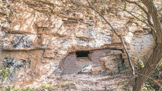 Entrada de la red de túneles