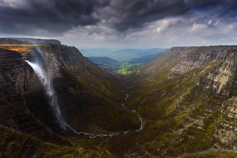 Las 5 cascadas más altas de España