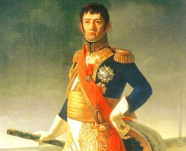 John Downie escoces lucho España Napoleon esgrimiendo espada de Pizarro