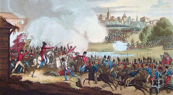 John Downie escoces lucho contra Naoleon España espada Pizarro